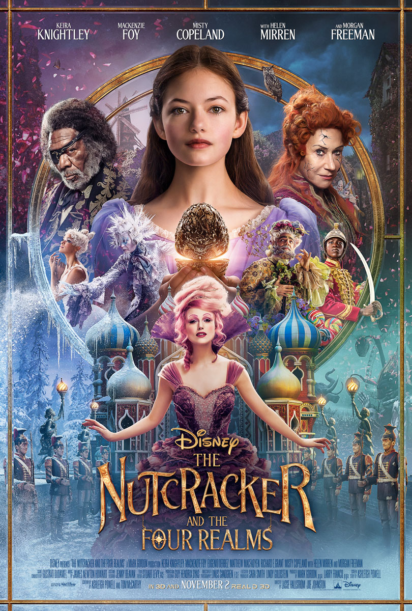 Nutcracker Four Realms One Sheet Movie Poster