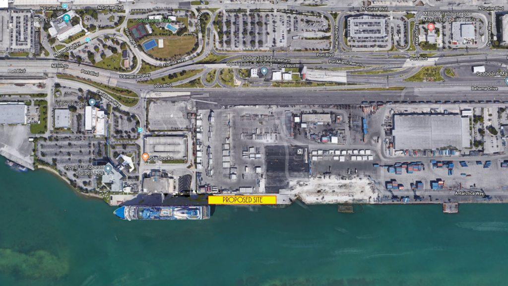 PortMiami DCL Terminal Proposed Site