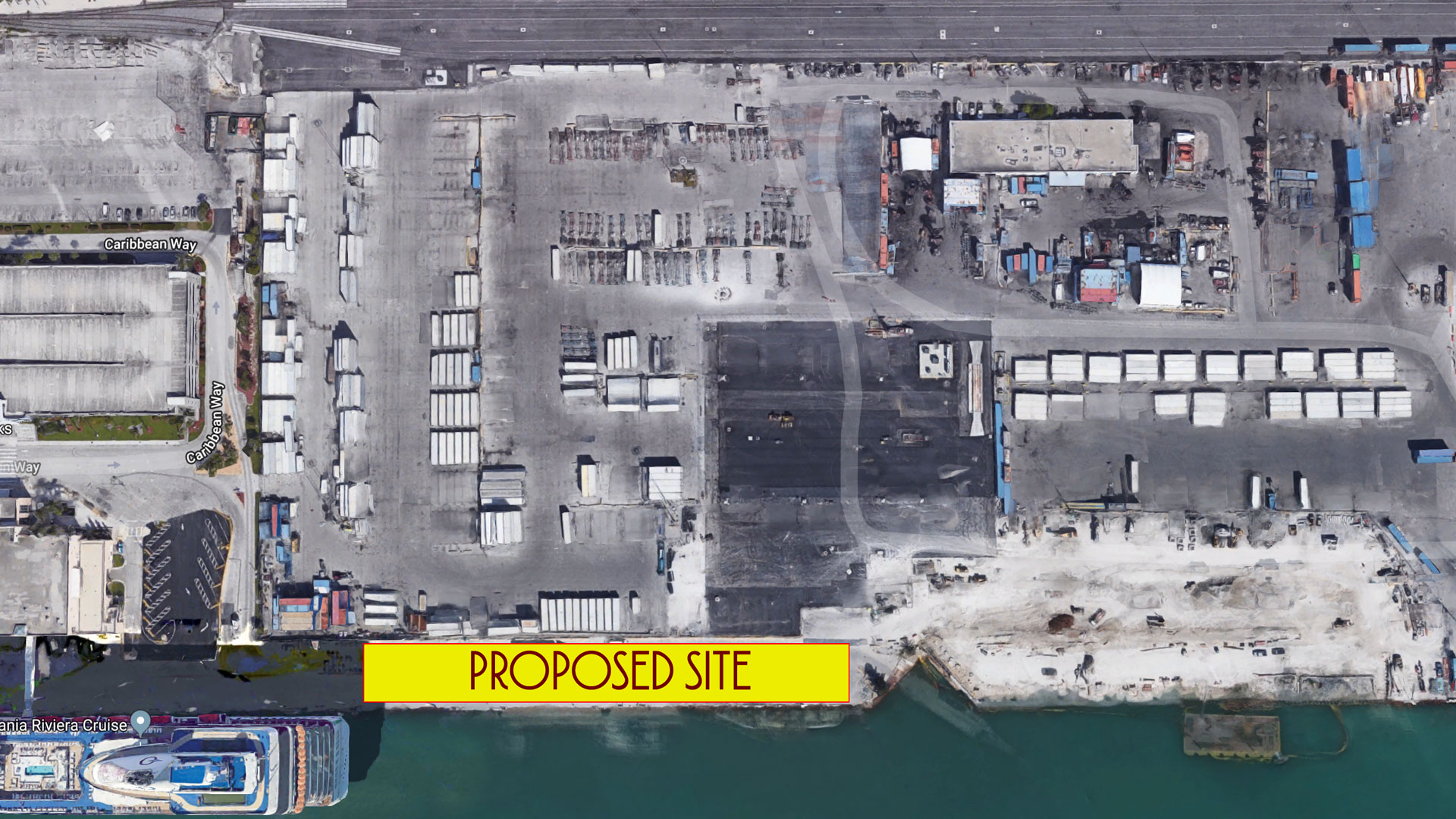 PortMiami DCL Terminal Proposed Site 2