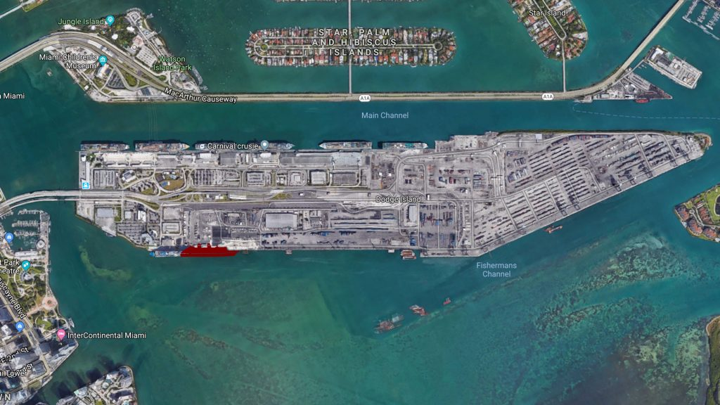 PortMiami DCL Terminal Site Overview