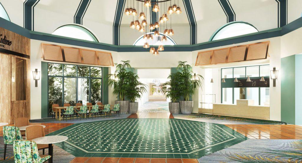 Swan Lobby Rendering Java Bar Il Mulino Rotunda