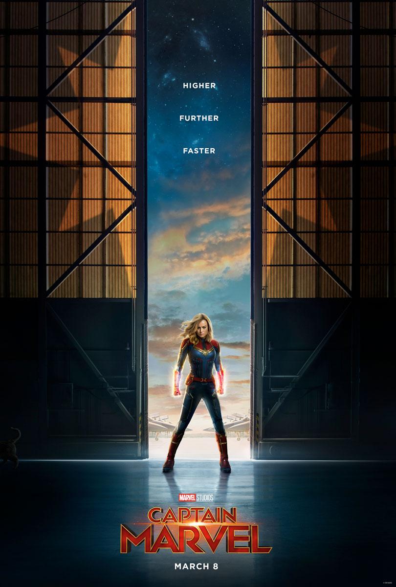 Captain Marvel Offical Teaser Poster
