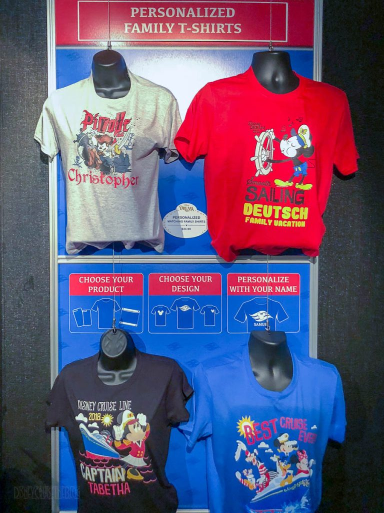 DCL Dream Personalized Merchandise