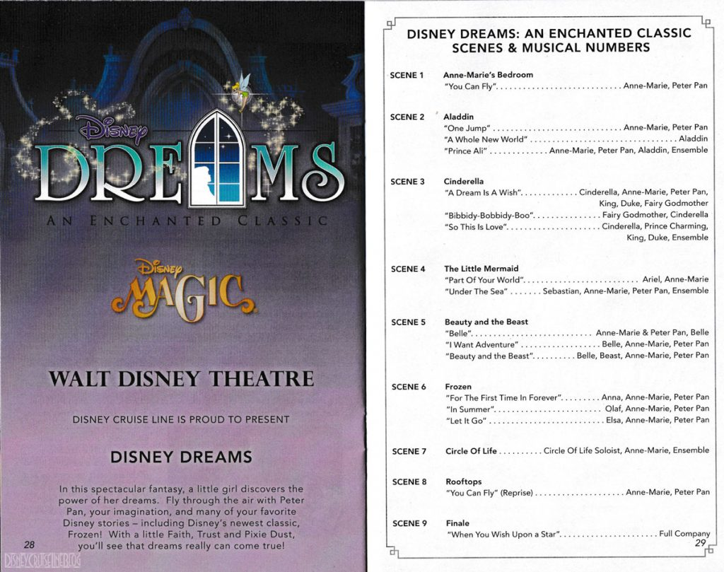 Disney Dreams Enchanted Classic Magic Summer 2018