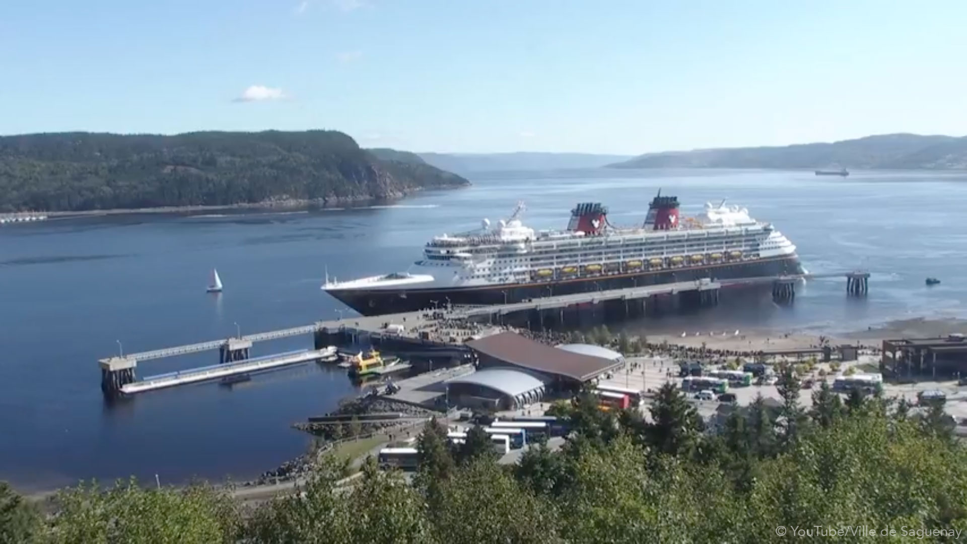 Disney Magic Inagural Call Saguenay 20180924