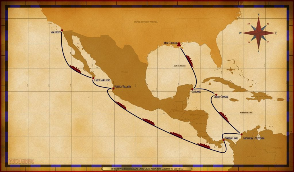 Map Wonder 14 Night WBPC MSY SEA CZM GEC SEA CAR PTY SEA SEA SEA SEA PVR CSL SEA SAN
