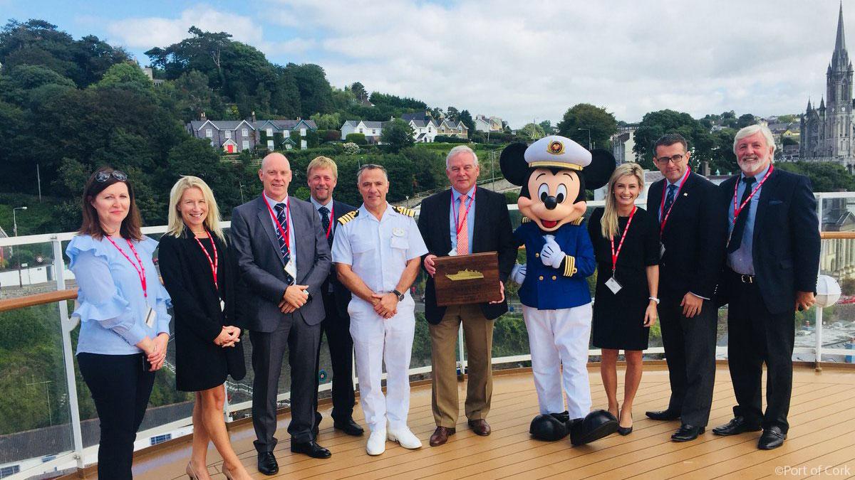 Port Of Cork Ireland Magic Plaque Ceremony