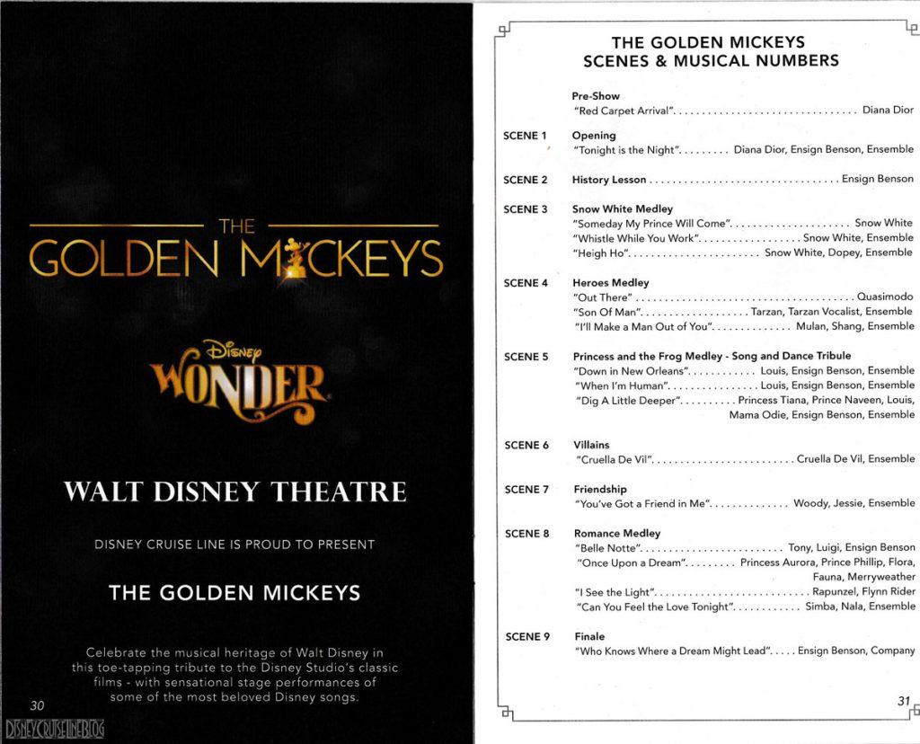 The Golden Mickeys Scenes Summer 2018