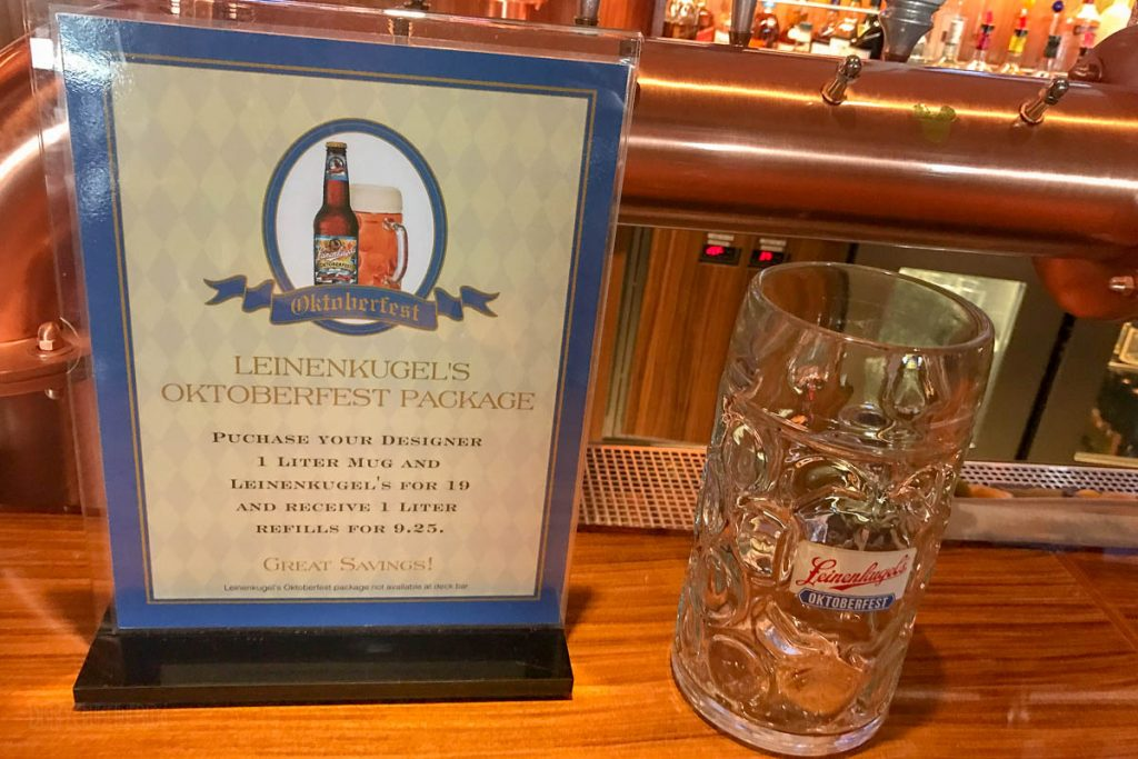 687 Leinenkugel Oktoberfest 1 Liter Mug Offer