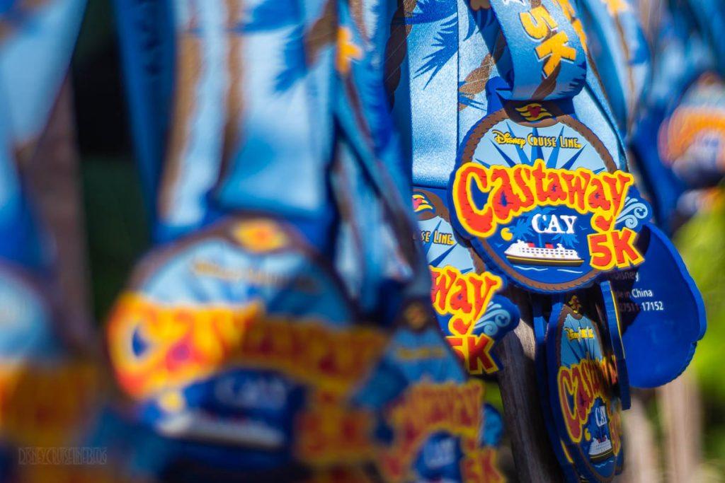 Castaway Cay 5k Medals