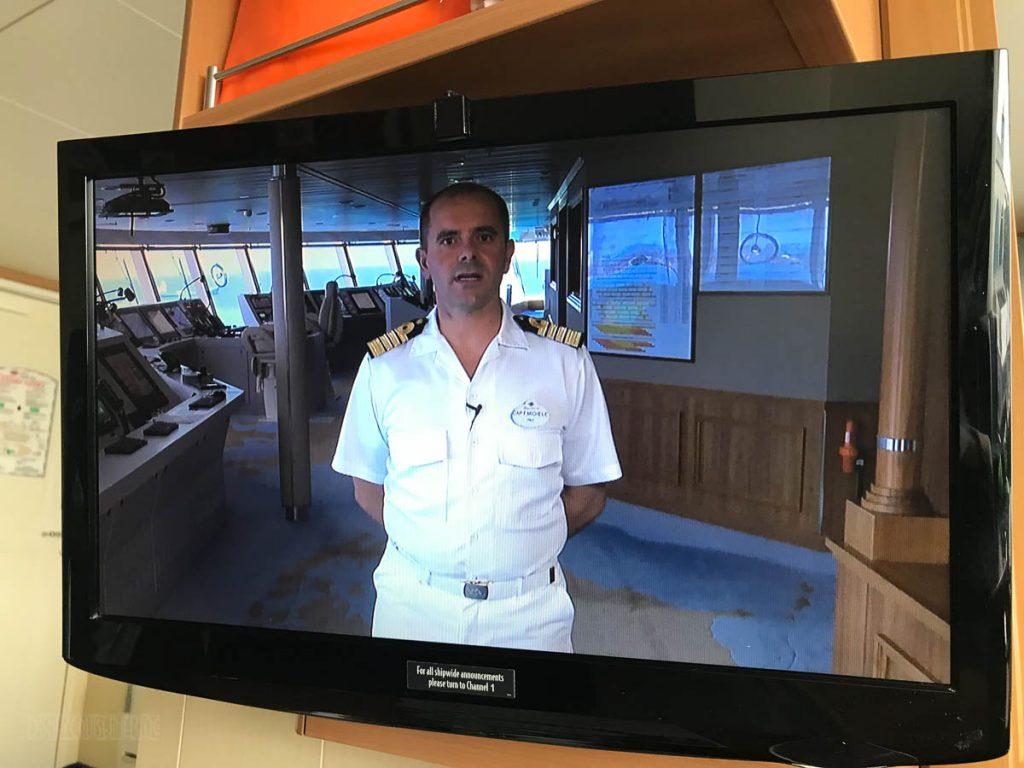 DCL Captain Michele Intartaglia Stateroom Video