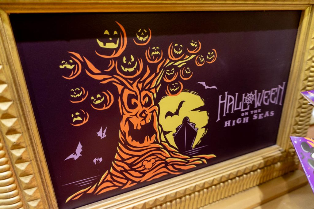 DCL Halloween On The High Seas 2018 Logo