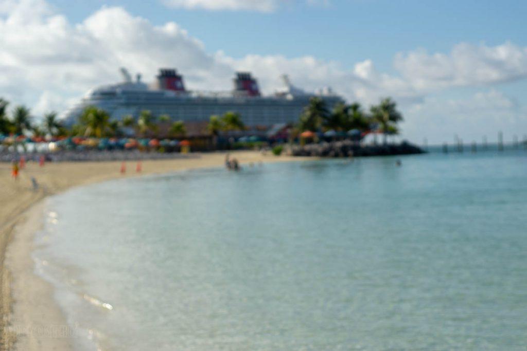 Disney Dream Castaway Cay Blurry