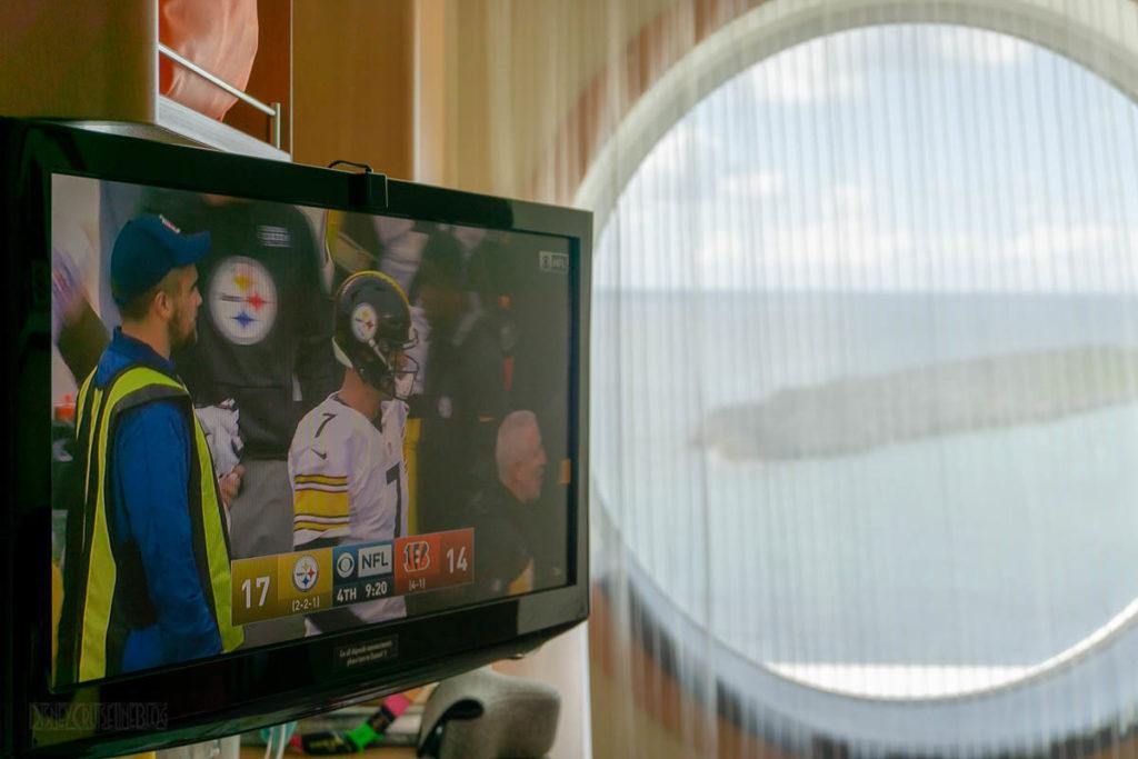 Disney Dream NFL On CBS Steelers Bengals