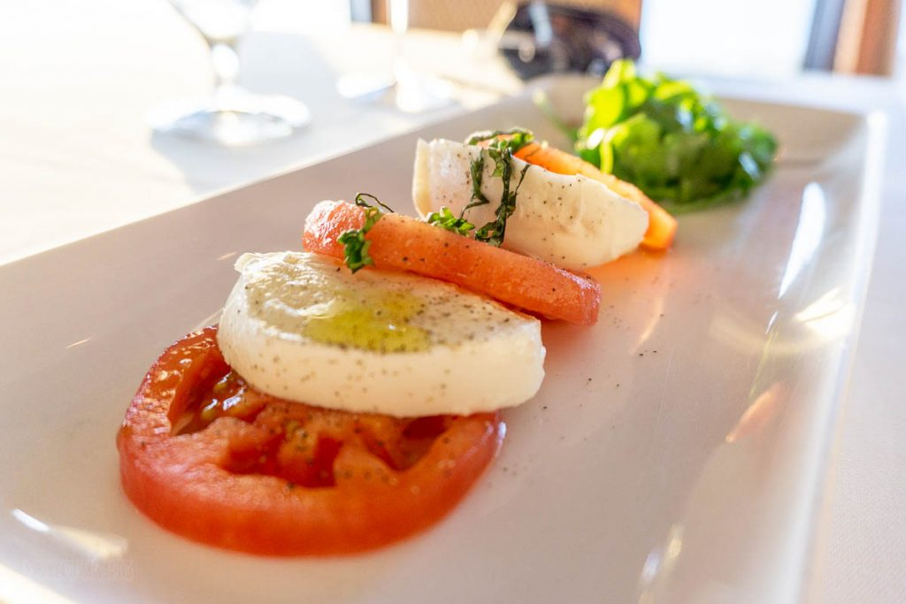 Dream Palo Dinner Caprese Salad