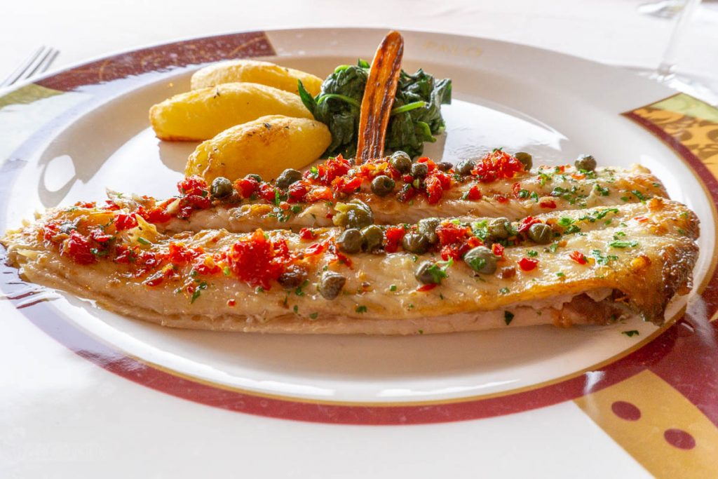 Dream Palo Dinner Dover Sole