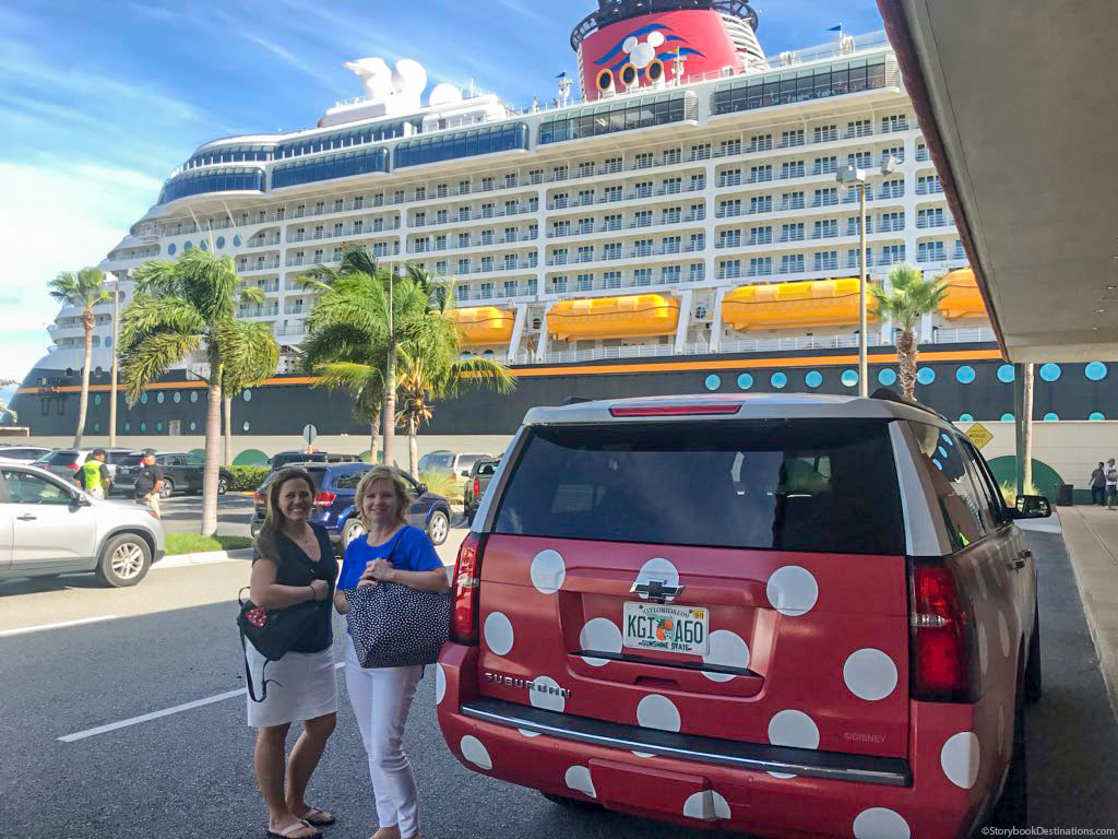 Minnie Van Port Canaveral