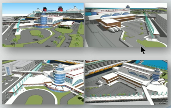 Port Canaveral CT8 Renovation Renderings October 2018