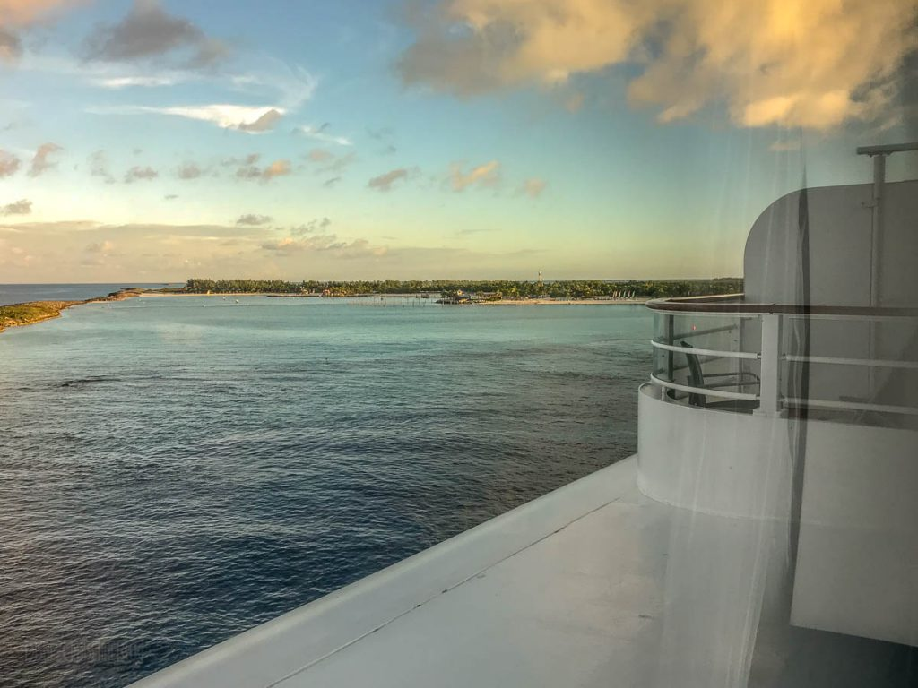 Porthole View Of Castaway Cay