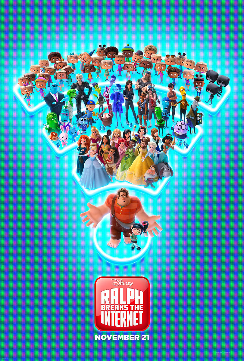 Ralph Breaks The Internet Final Movie Poster