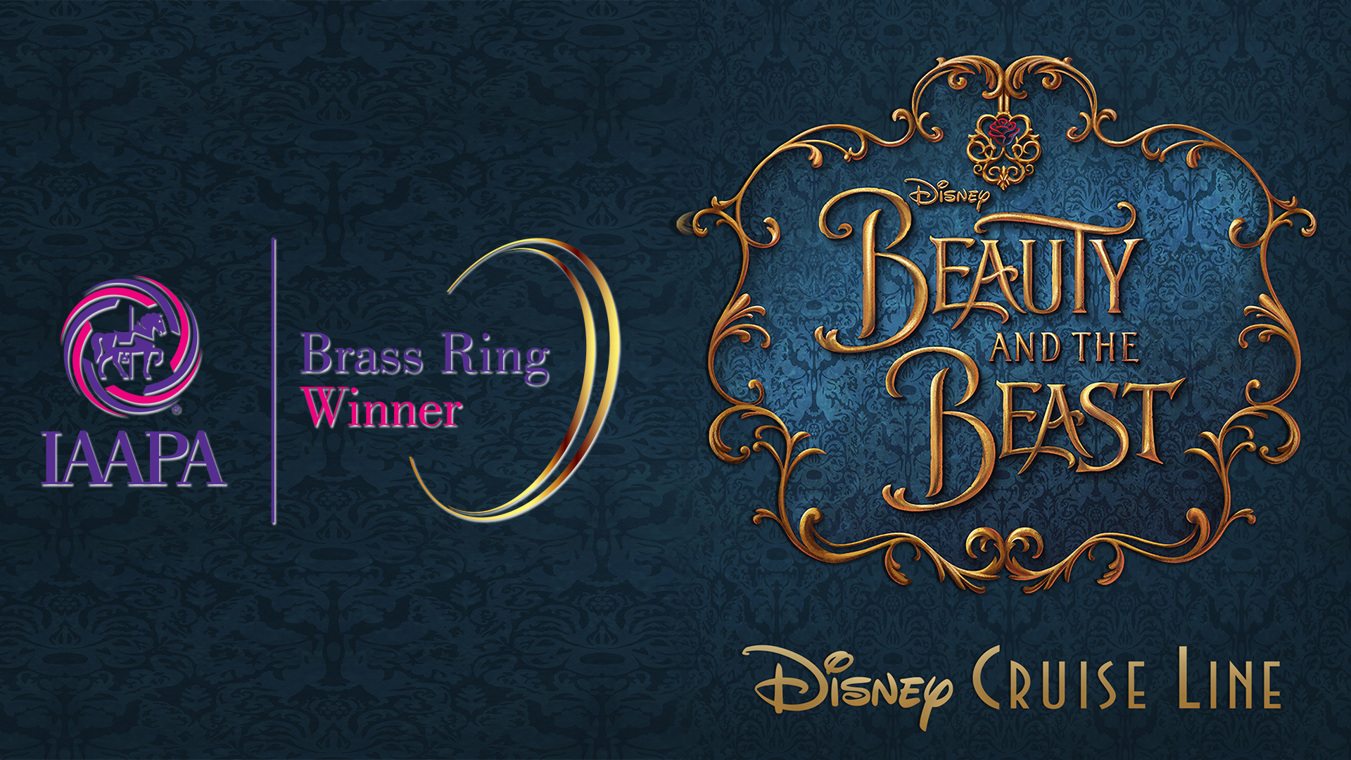 8356b1342 IAAPA Awards Disney Parks Live Entertainment a Brass Ring Award for Disney  Cruise Line's Beauty and the Beast • The Disney Cruise Line Blog