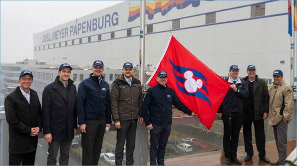 DCL Flag Meyer Werft 20181207