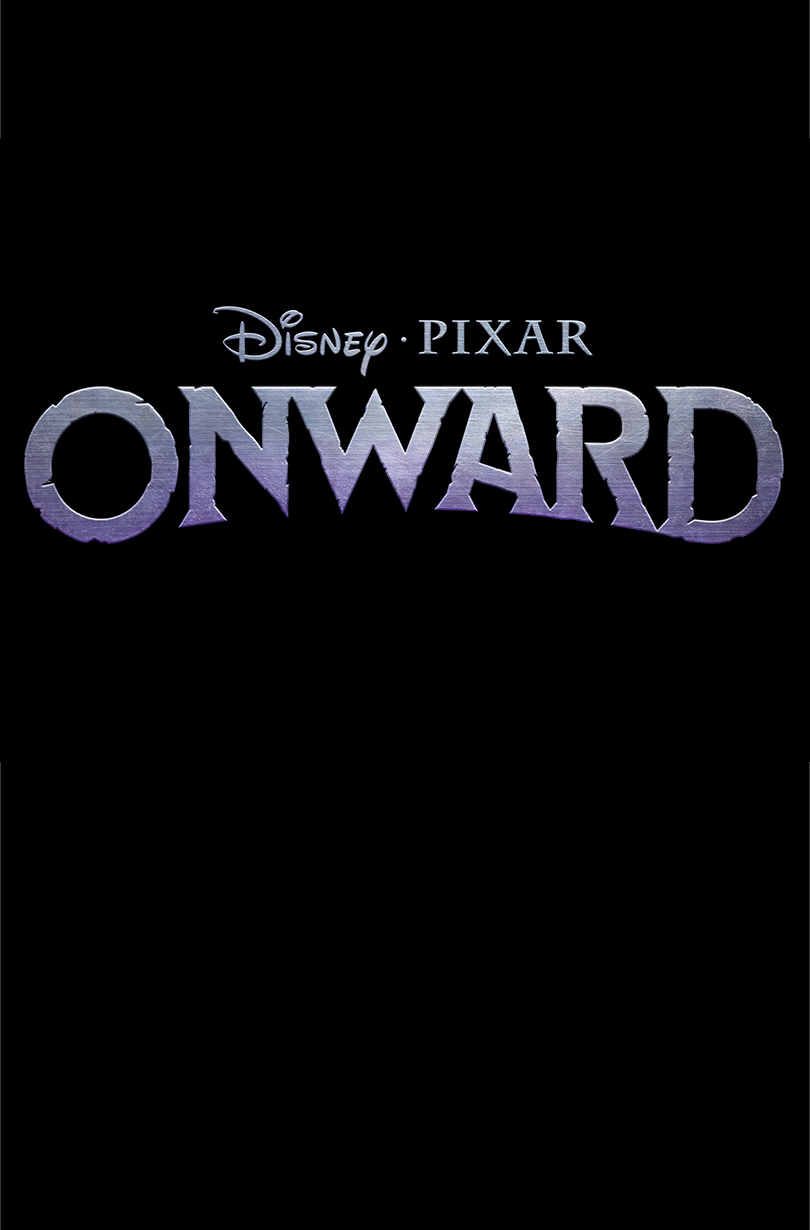 Disney Pixar Onward Movie Title Poster