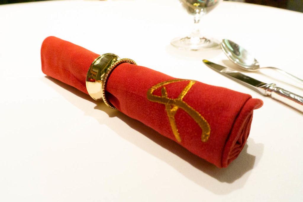 Remy Dinner Dessert Red Napkin
