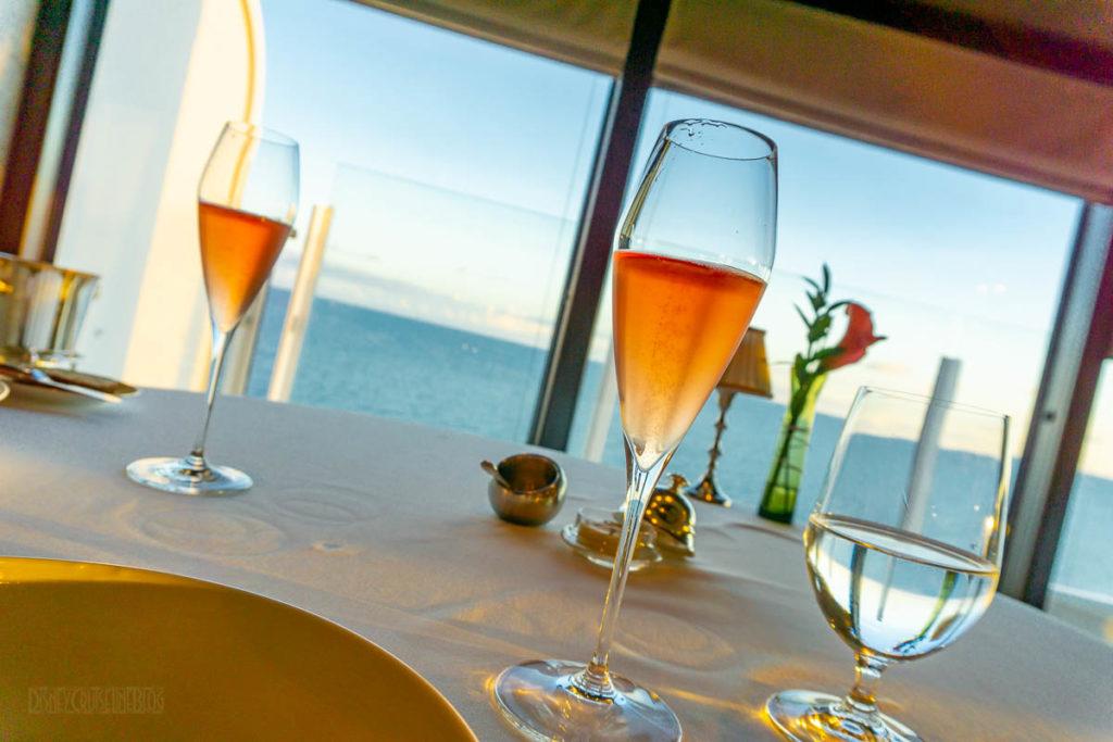 Remy Dinner Taittinger Brut Prestige Rose