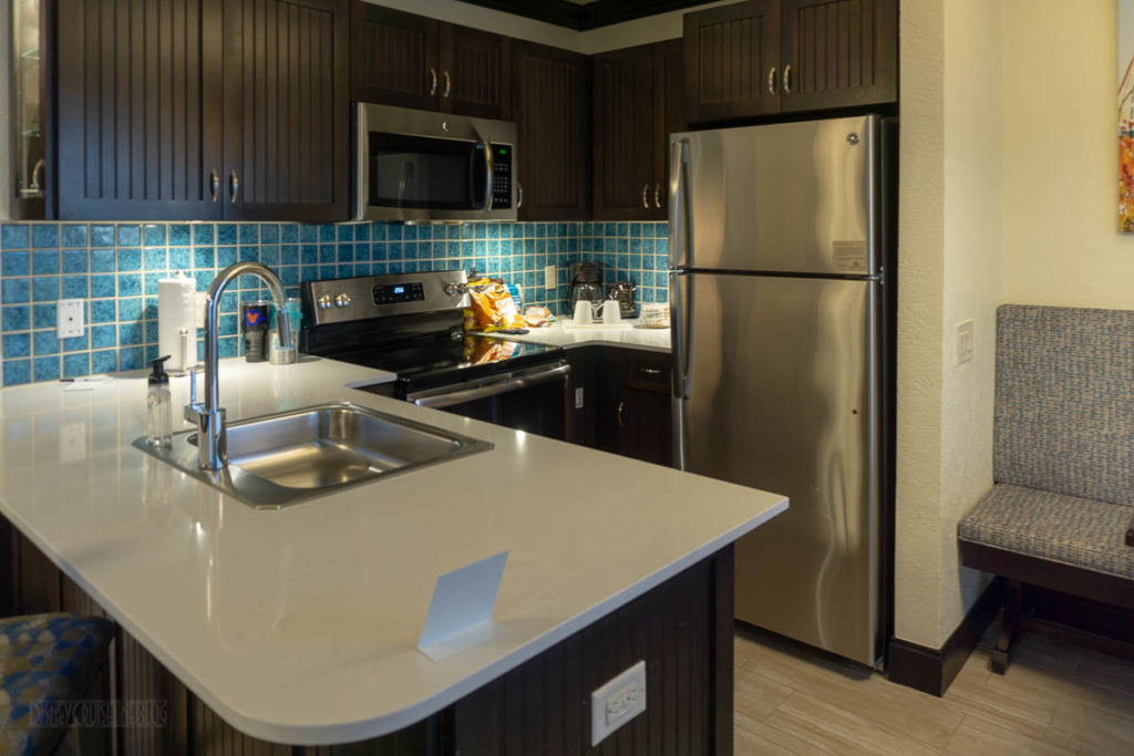 Cocoa Beach Resort Room Kitchen