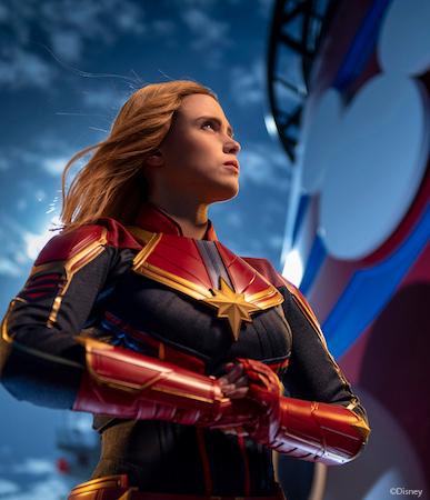 DCL Captain Marvel Disney Magic