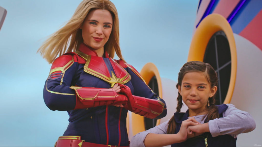 DCL Captain Marvel Meet Greet 2