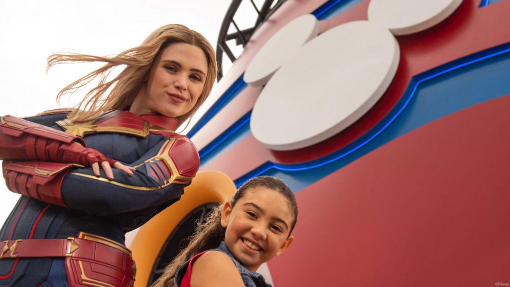 DCL Captain Marvel Promo