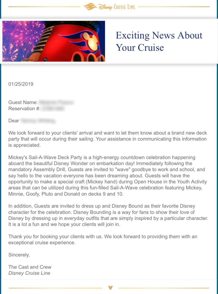 DCL Email 20190125 Mickey Mickey's Sail A Wave Deck Party