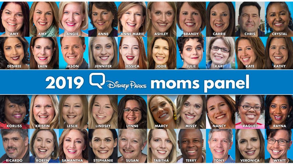 Disney Moms Panel Panelists 2019