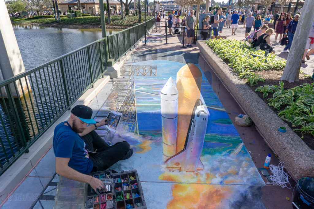 FotA19 3D Chalk Art