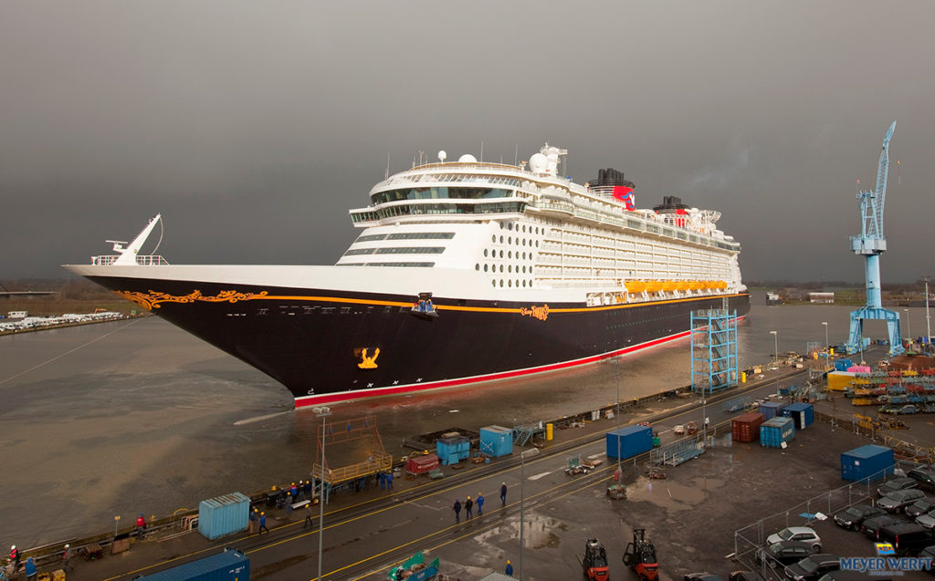Meyer Werft Shipyard Papenburg Disney Fantasy