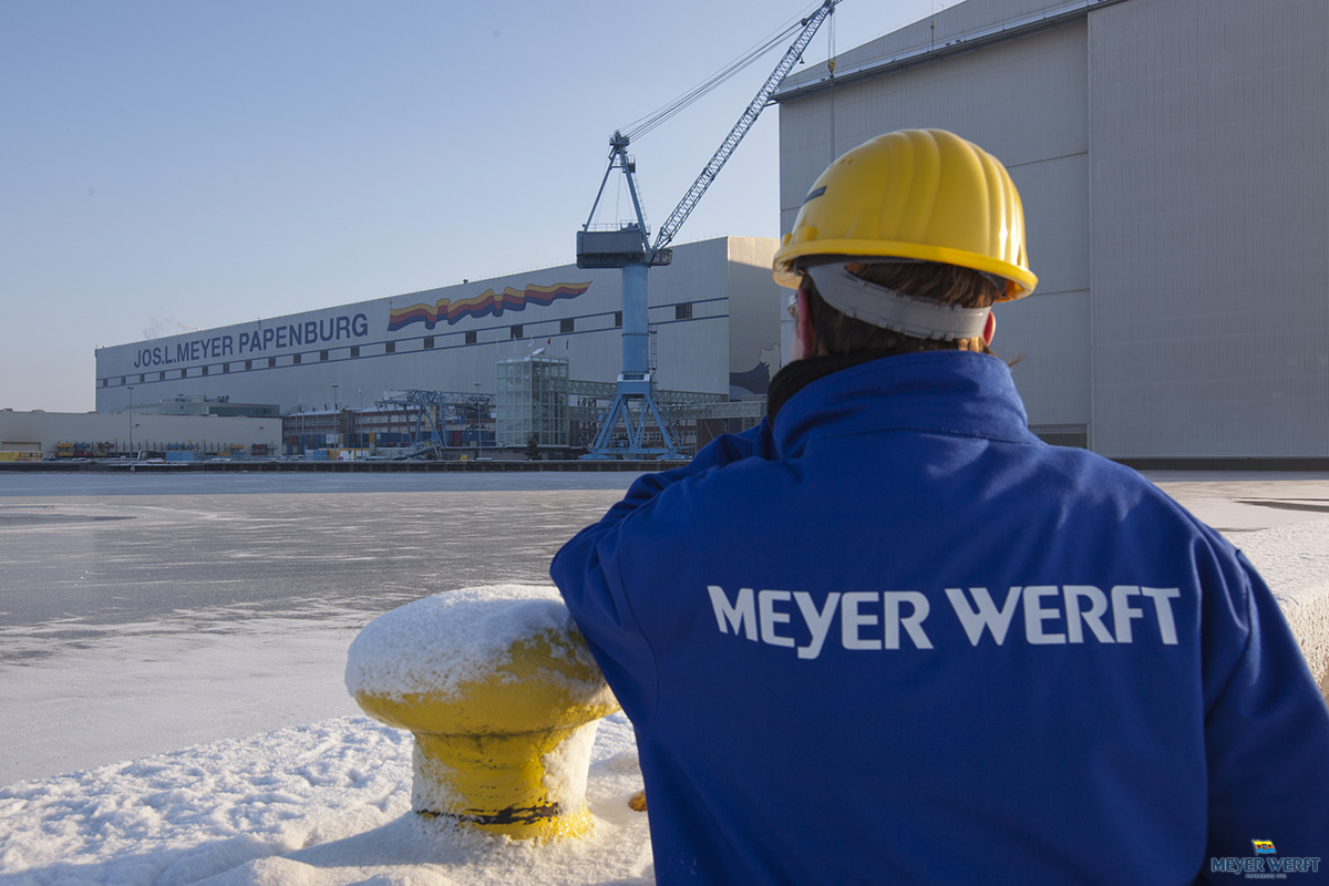 Meyer Werft Shipyard Papenburg