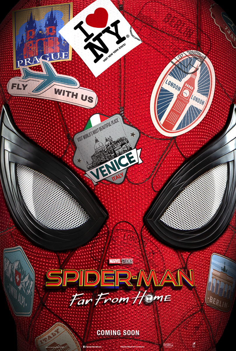 Spider Man Far From Home Movie Teaser Poster