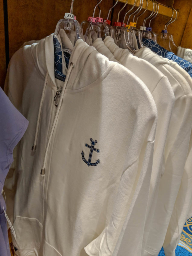 DCL 2019 Merchandise Anchor Zippered Hoodie