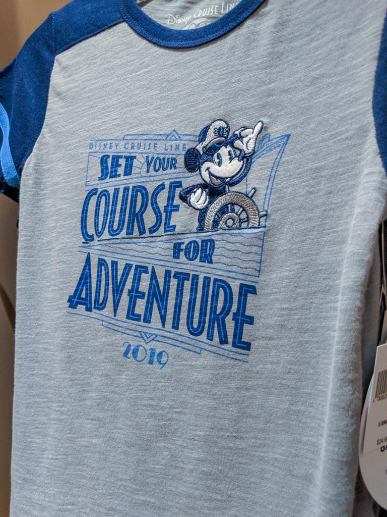 DCL 2019 Merchandise Mickey Shirt