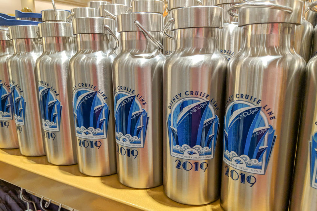 DCL 2019 Merchandise Stainless Water Bottles