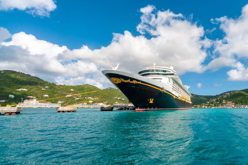 Disney Fantasy Tortola, British Virgin Islands