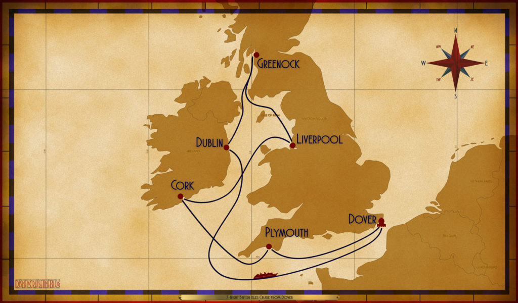 Map Magic 7 Night British Isles DVR PLY ORK LVP GRK DUB SEA