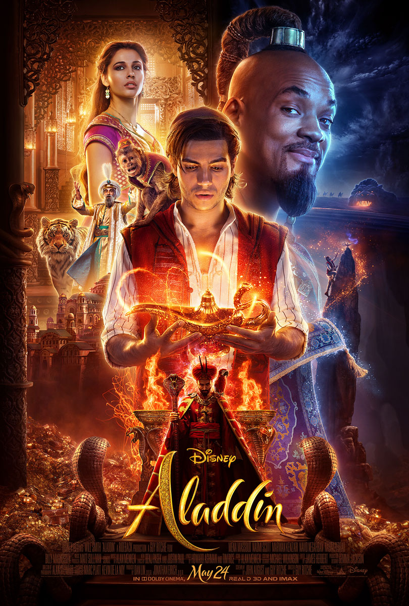 Aladdin 2019 Movie Poster