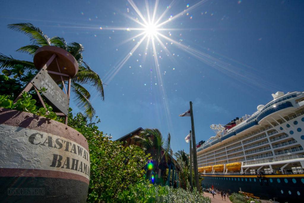 Castaway Cay Bouy Disney Fantasy