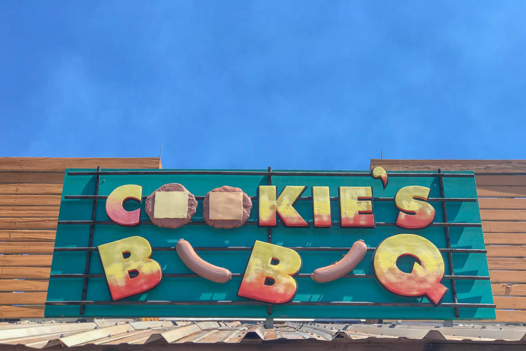 Castaway Cay Cookie's BBQ Sign