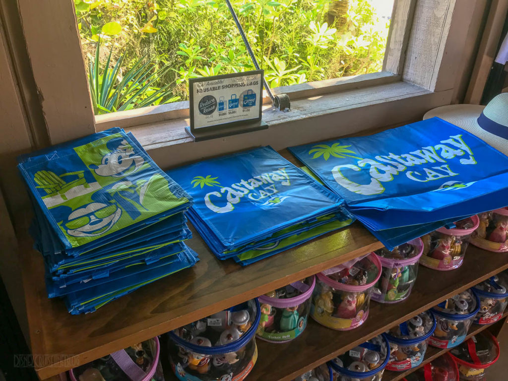Castaway Cay Reuable Shopping Bags