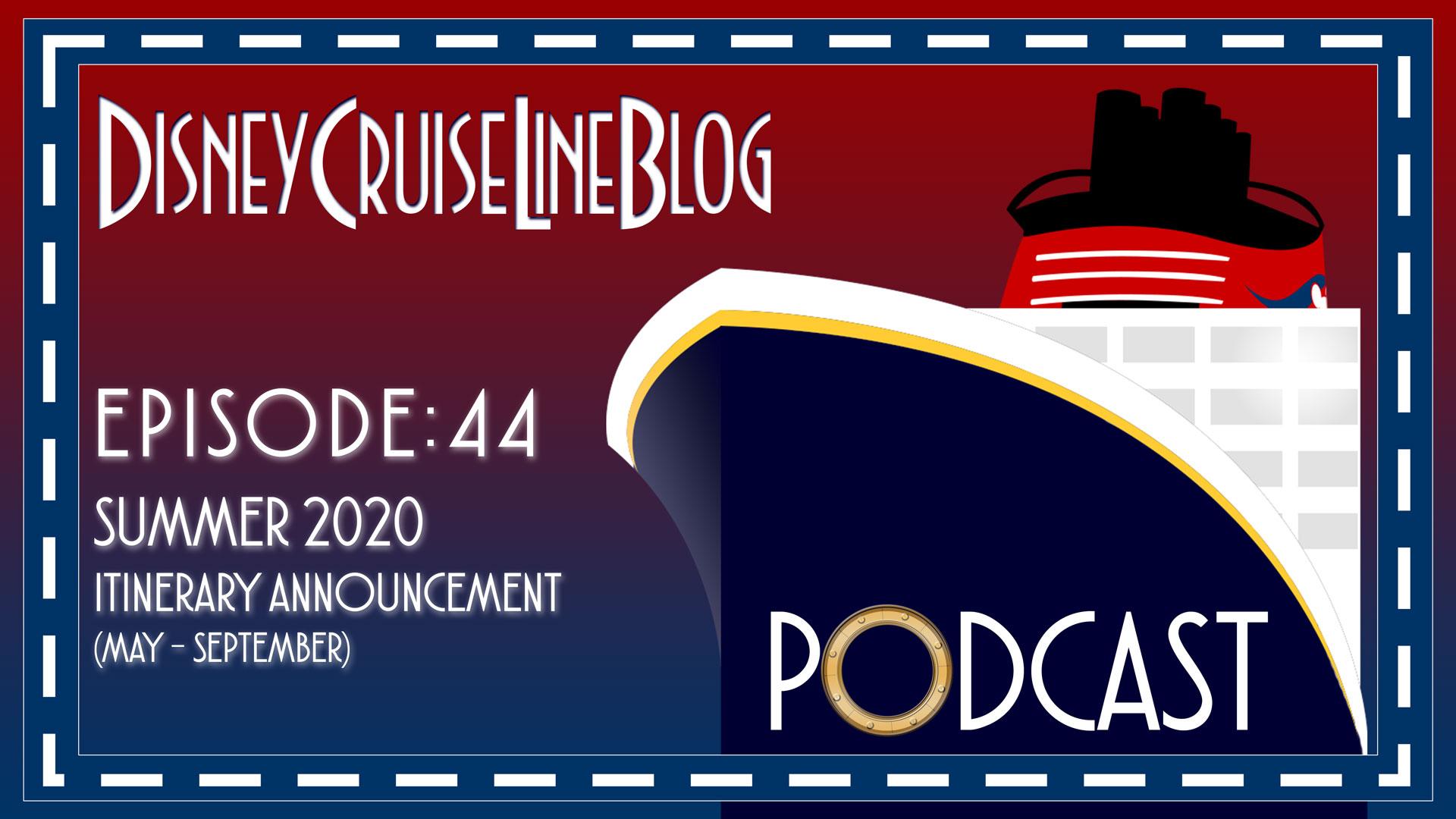 DCL Blog Podcast Episode 44 Summer 2020