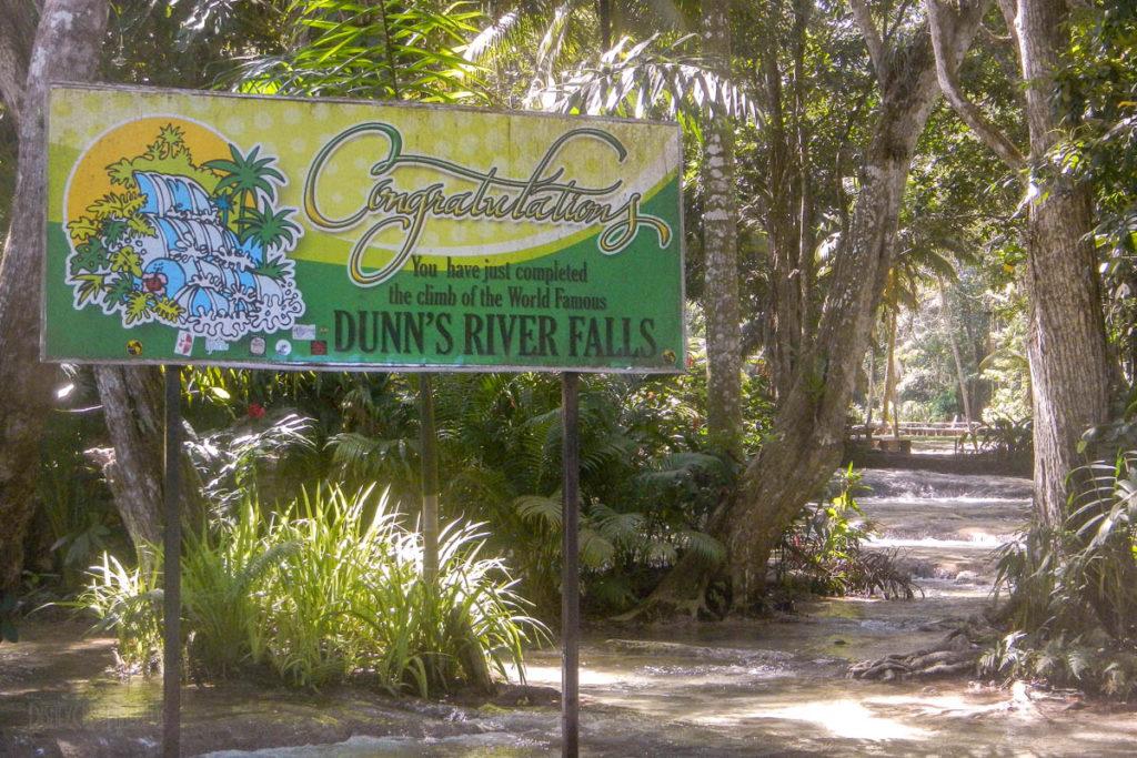 Dunn's River Falls Congradulations